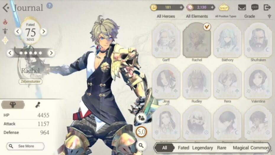 Exos Heroes Characters