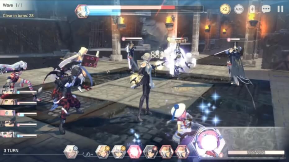 Exos Heroes Gameplay