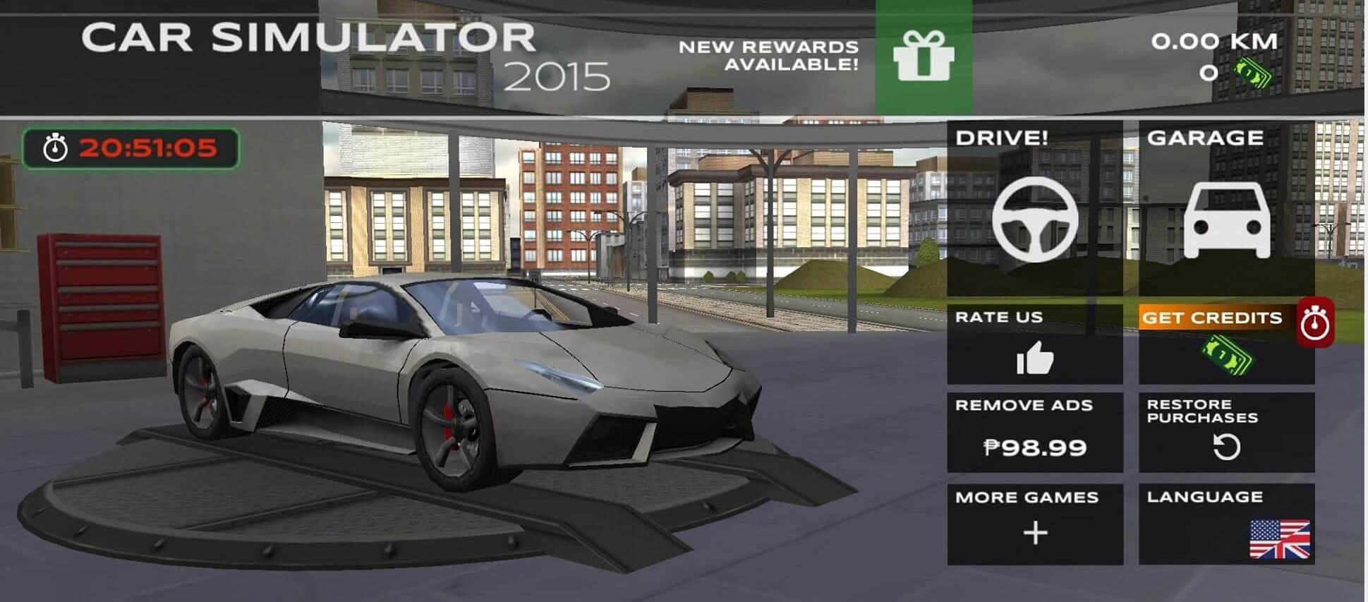 extreme car driving garage