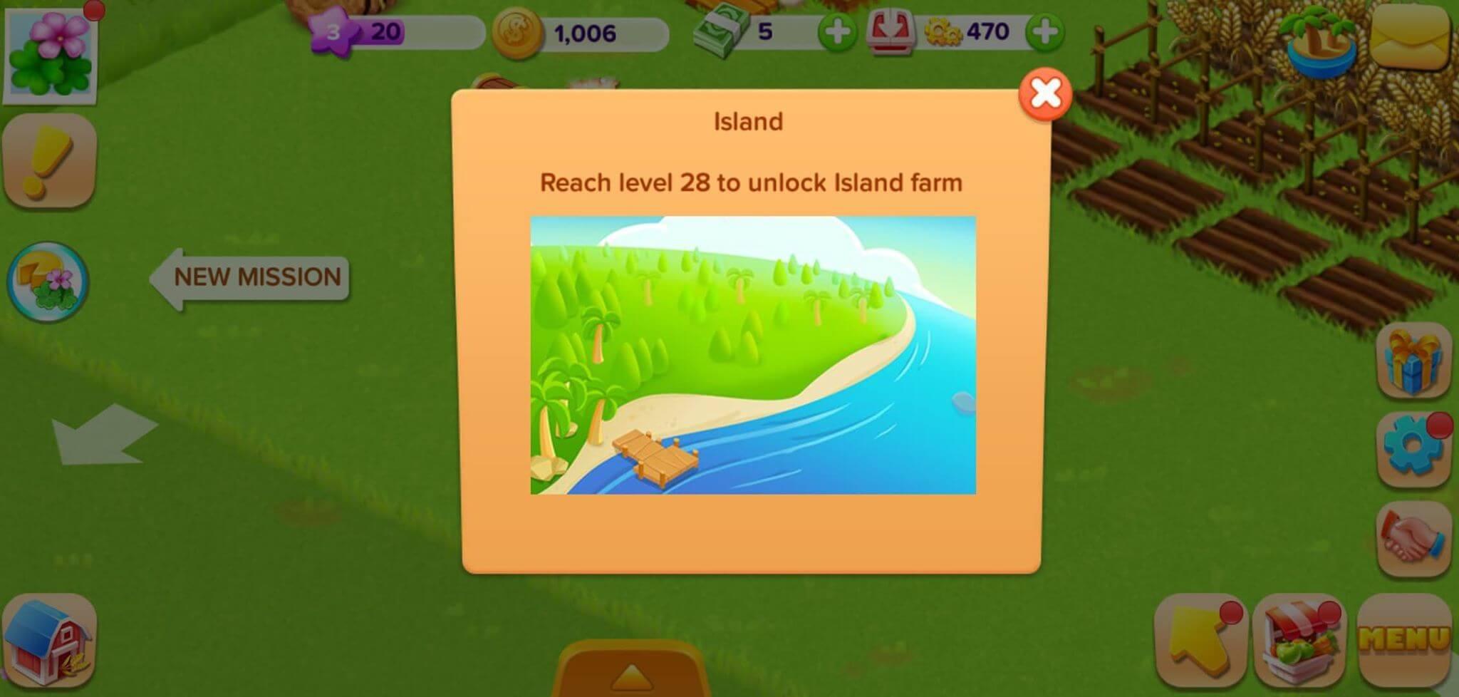 family farm unlocking island