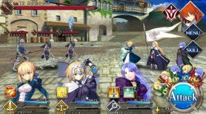 fate grand order gameplay