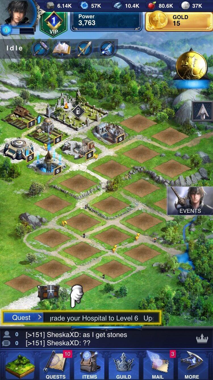 Final Fantasy XV Battle game guide