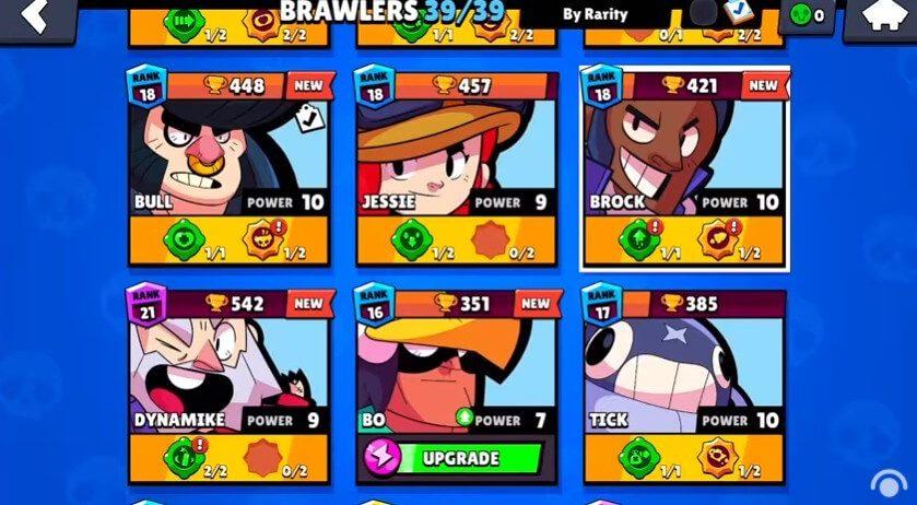 free brawlers