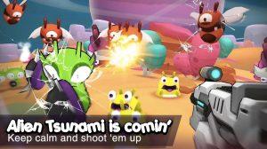 galaxy gunner alien tsunami is comin