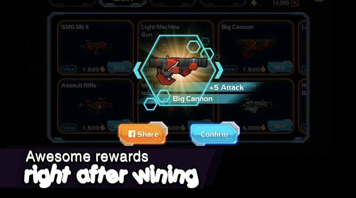 galaxy gunner awesome rewards