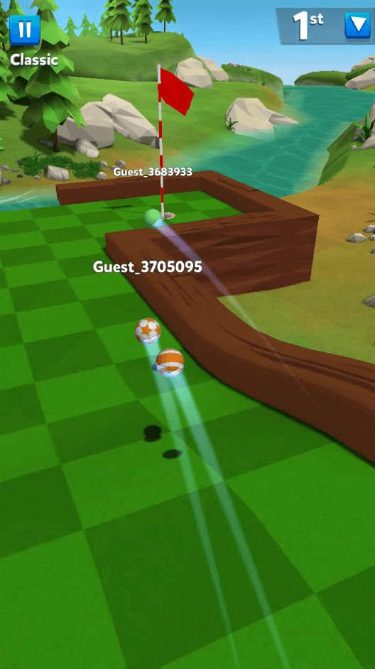 Golf Battle Obstacle