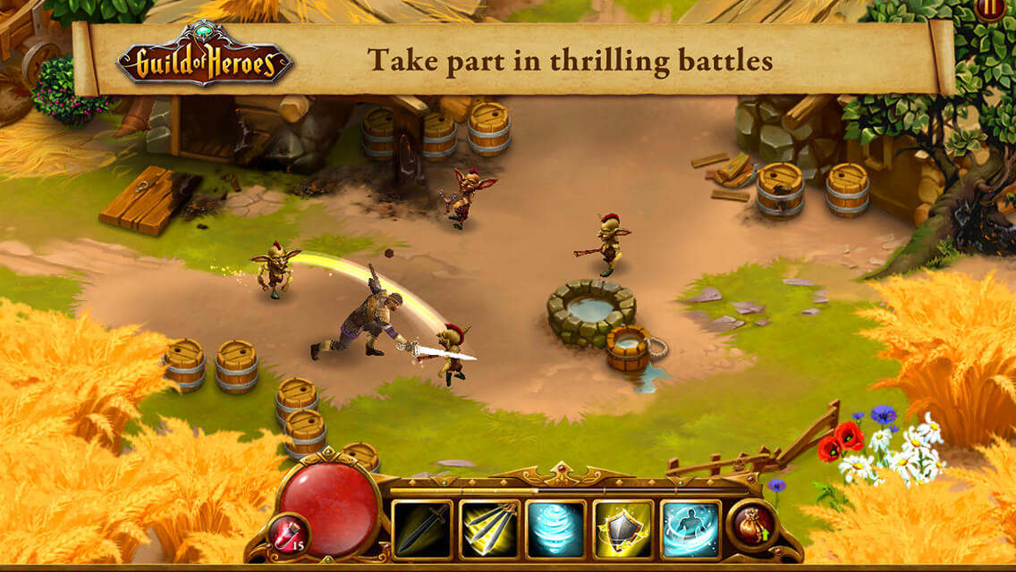 Guild of Heroes Game Battles Wiki PC Download Free