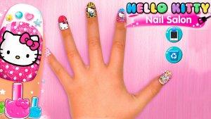 hello kitty nail salon pc