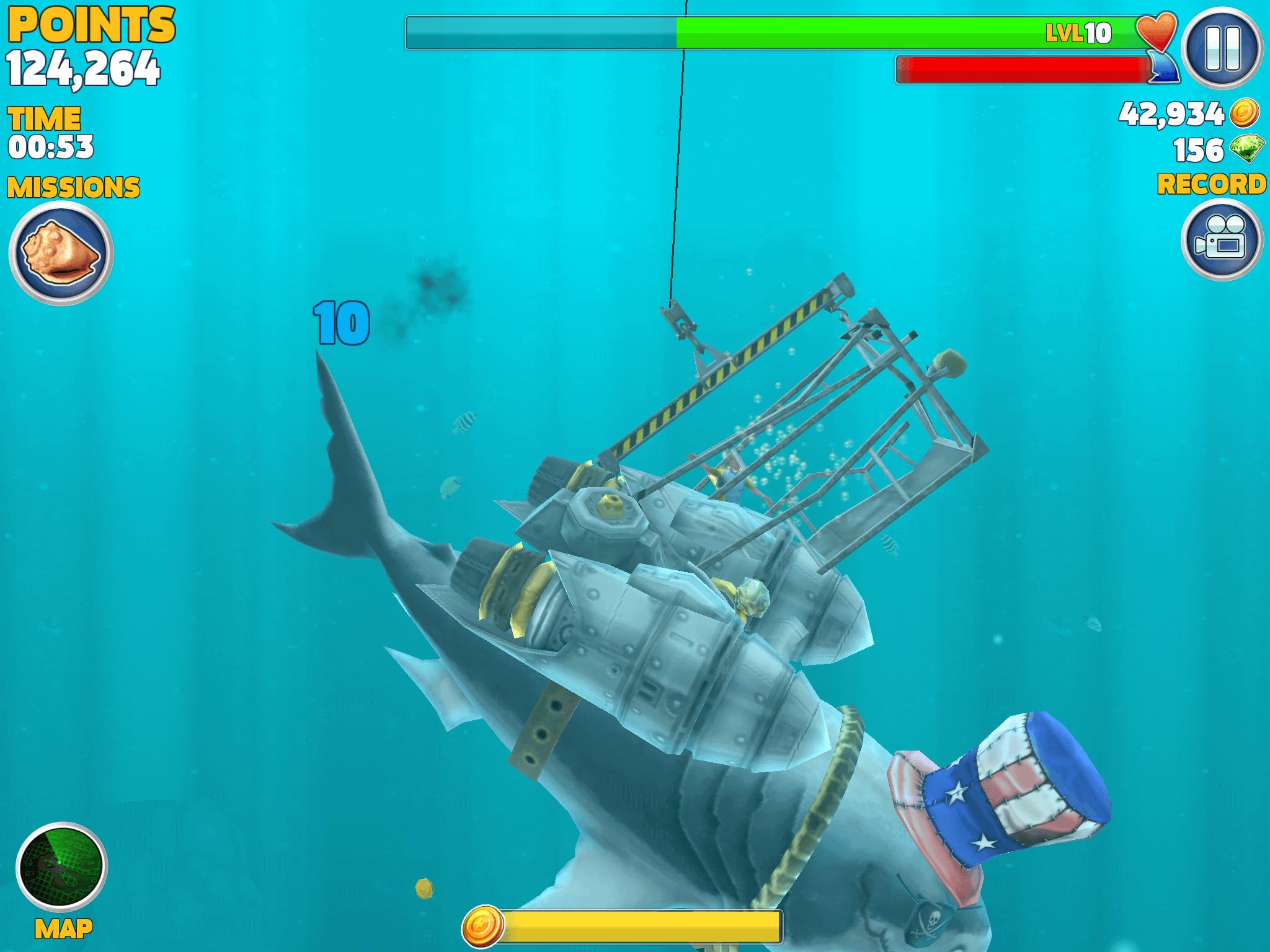 hungry shark evolution explorations