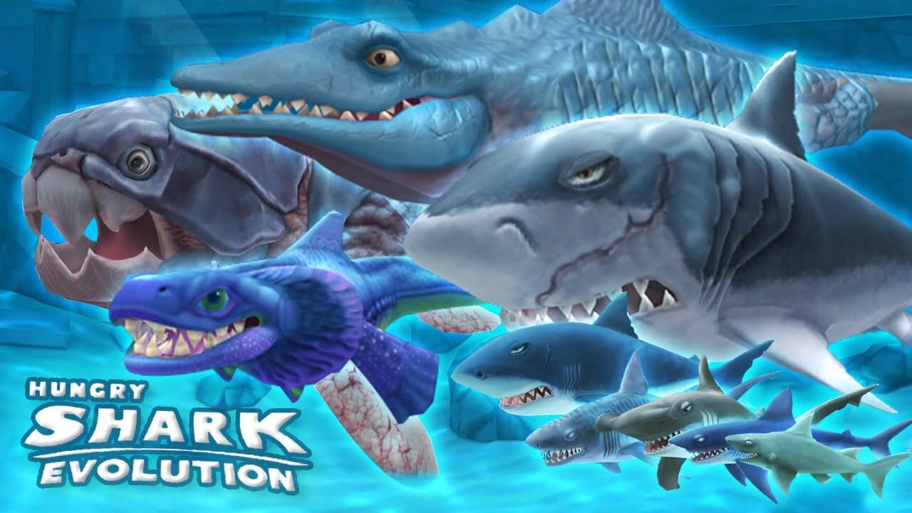 hungry shark evolution types