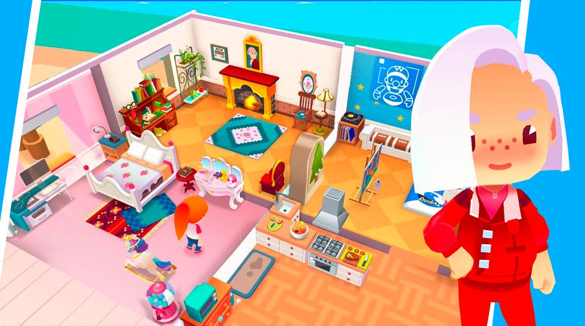 idle life sim bedroom