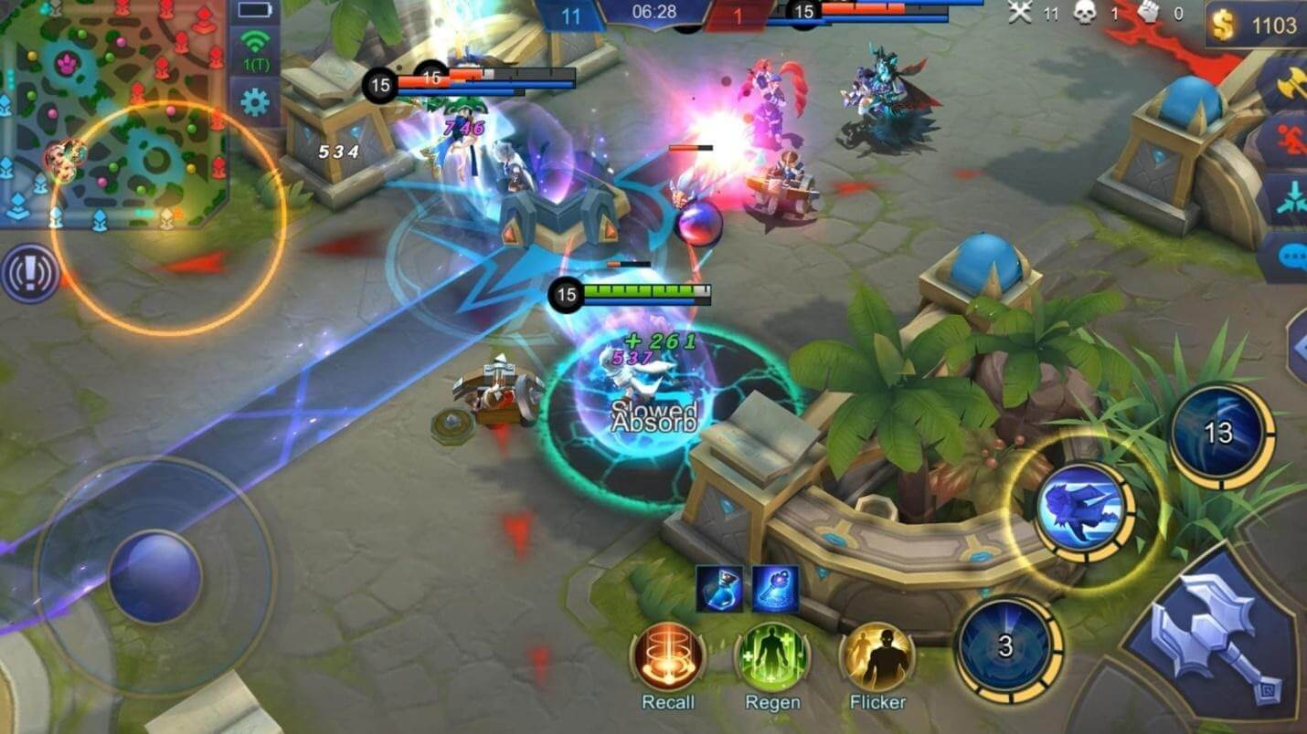 Mobile Legends Gameplay