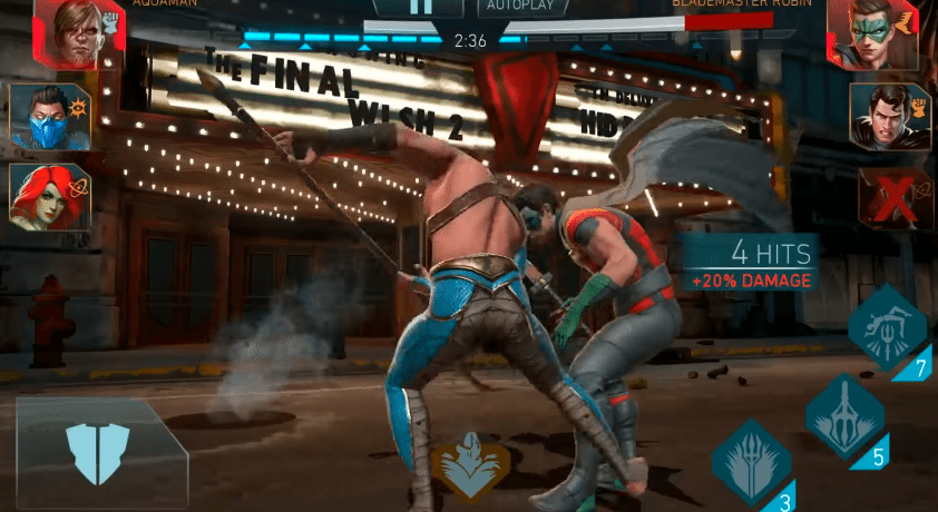 injustice 2 action packed combat