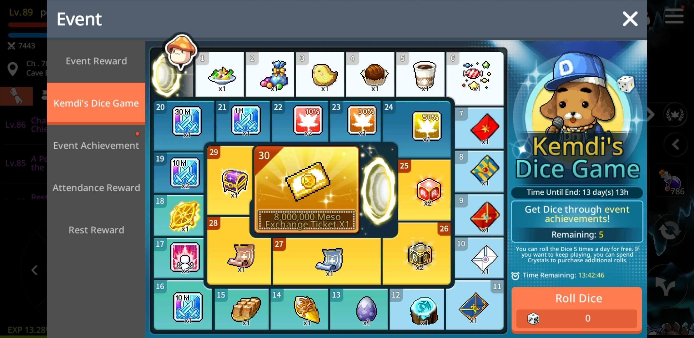 Kemdi Dice Game Maplestory M Download