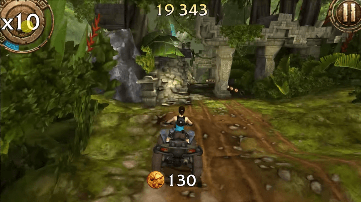 Lara Croft Relic Run Obstacle