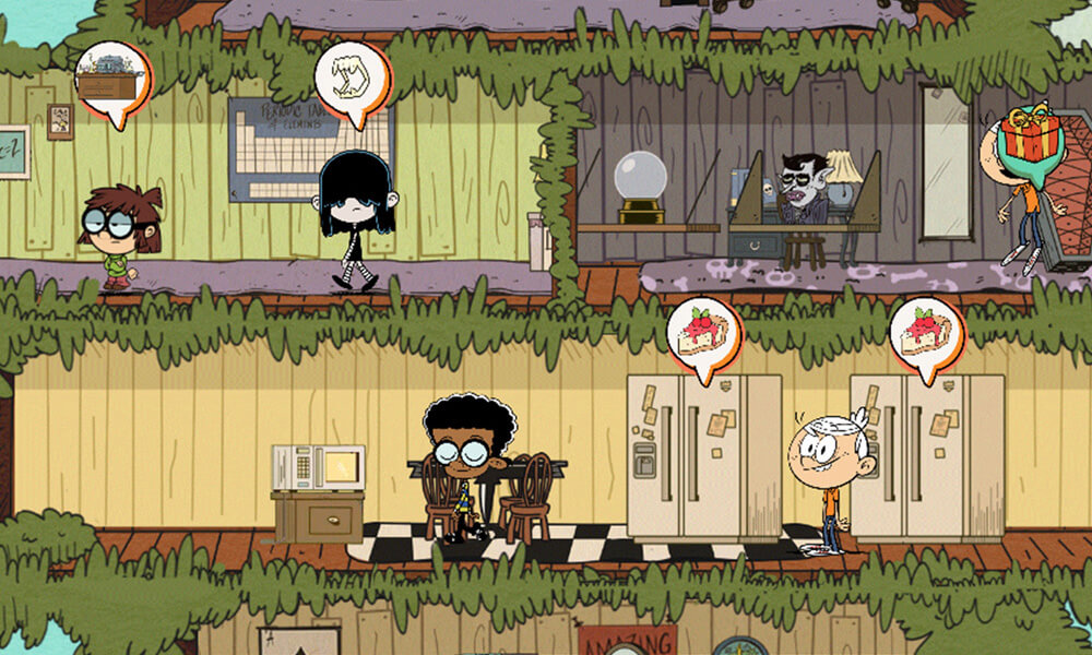 loud house ultimate treehouse game