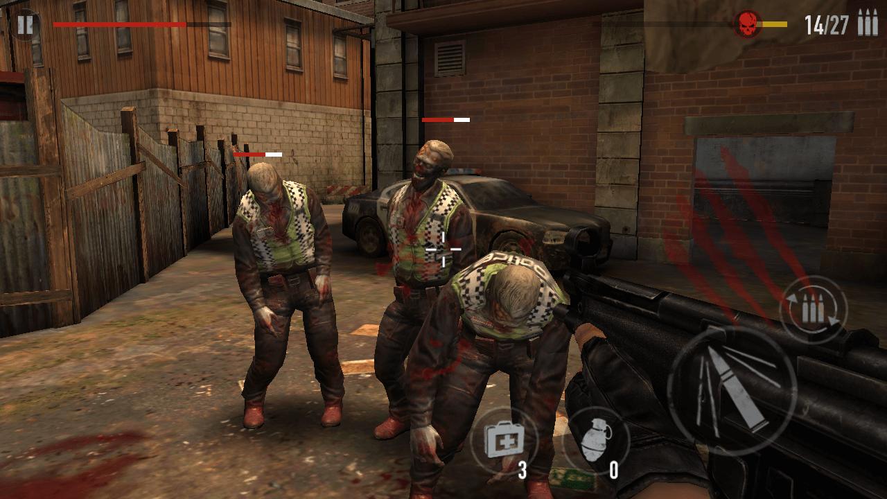 Shoot Three Zombies