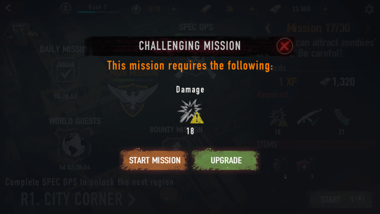 Mad Zombies Challenging Mission