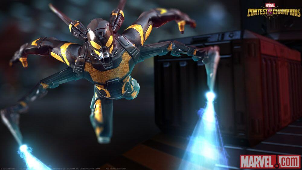 Marvel Contest of Champions Yellowjacket Character Update PC