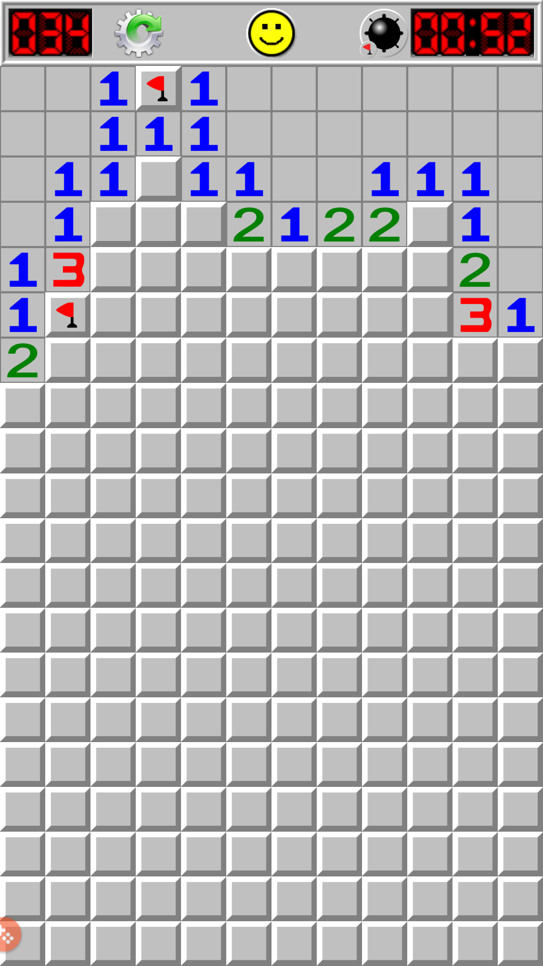 minesweeper unpredictable gameplay