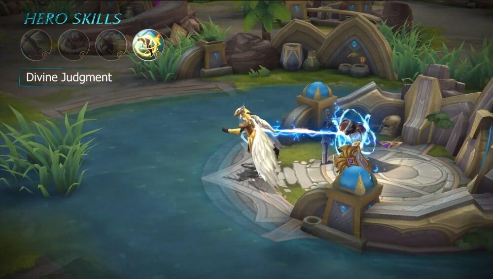 Mobile Legends Bang Bang Kaja Hero Divine Judgement