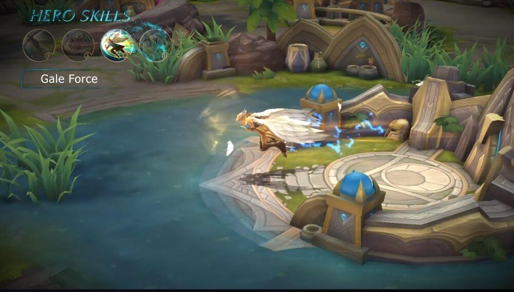Mobile Legends Bang Bang Kaja Hero Gale Force