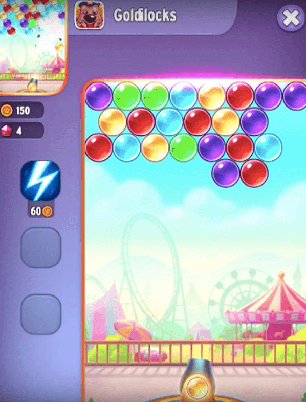 my talking tom bubble shooter game online