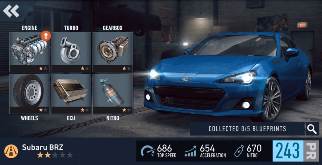 Need for Speed No Limits Car Upgrade Cheats