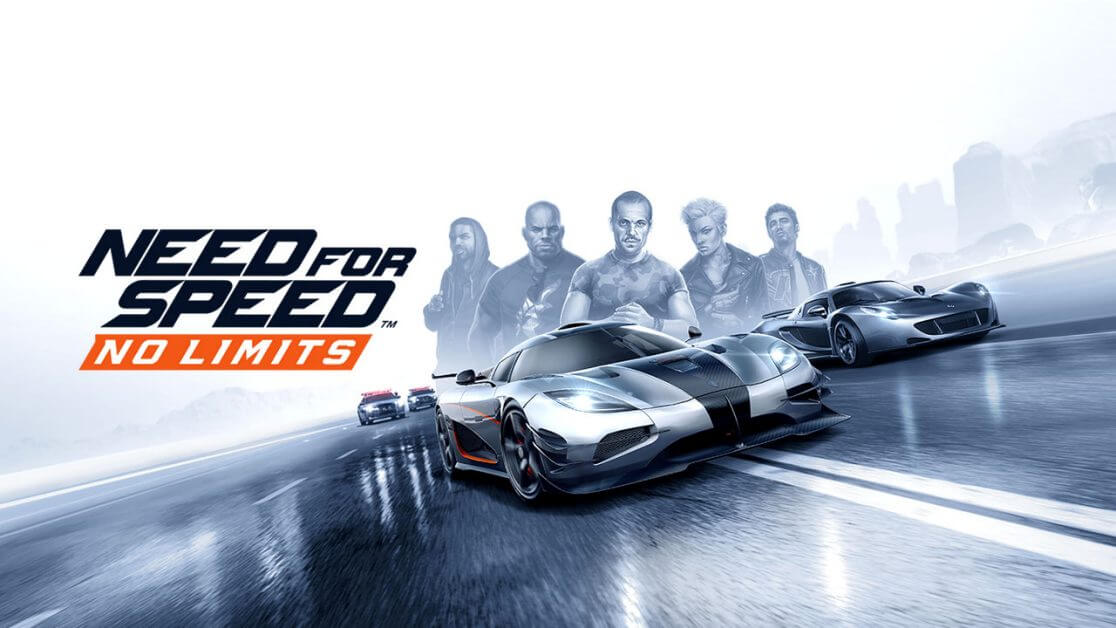 Need for Speed No Limits Game Screen