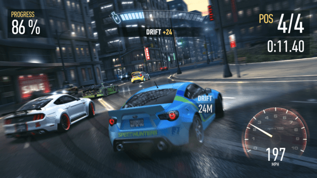 Need for Speed No Limits Drift Gameplay