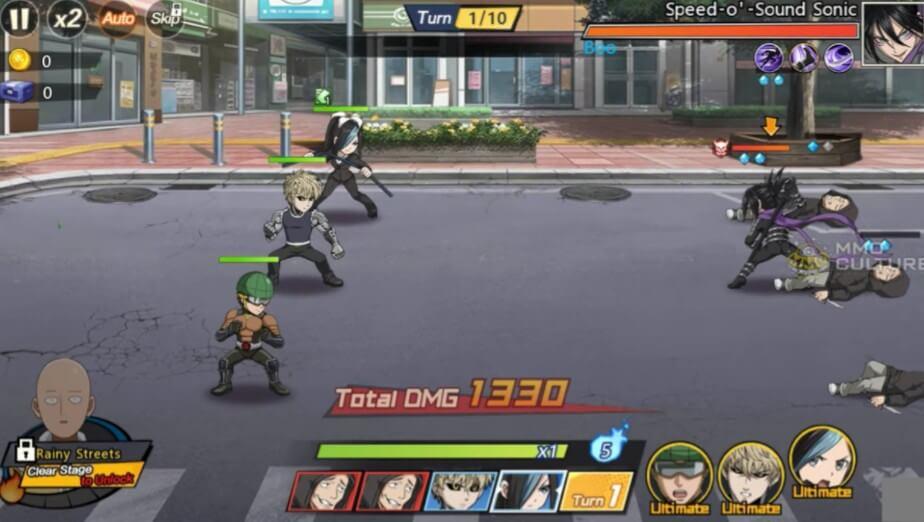 one punch man screenshot 1