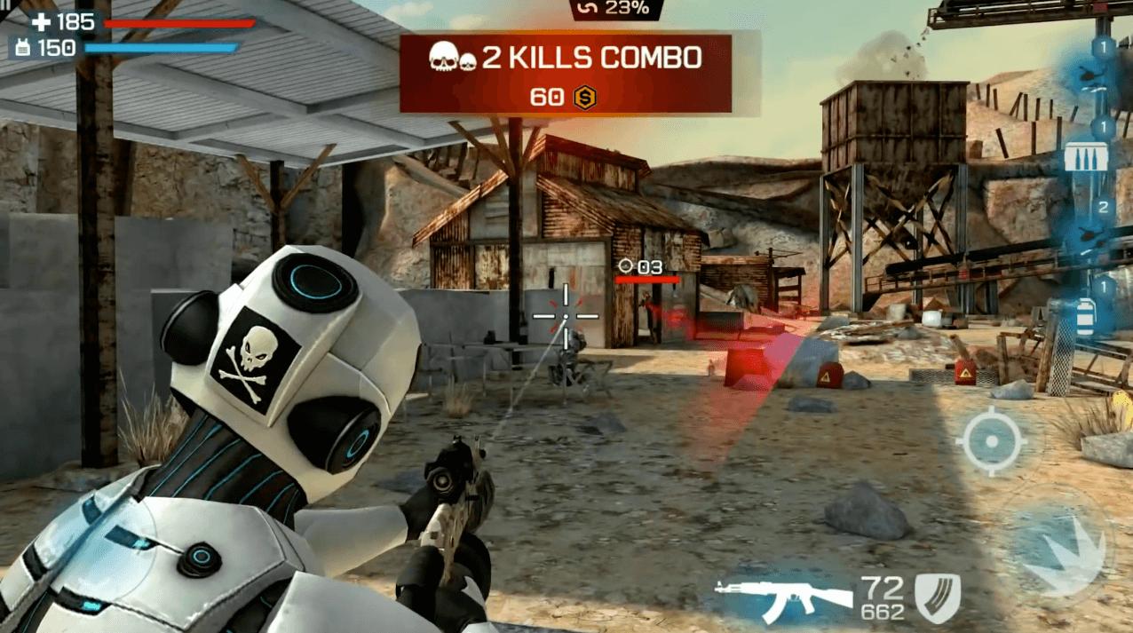 overkill 3 kill combo