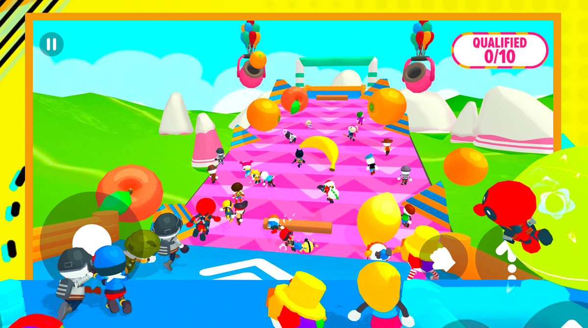 party royale fruit obstacles