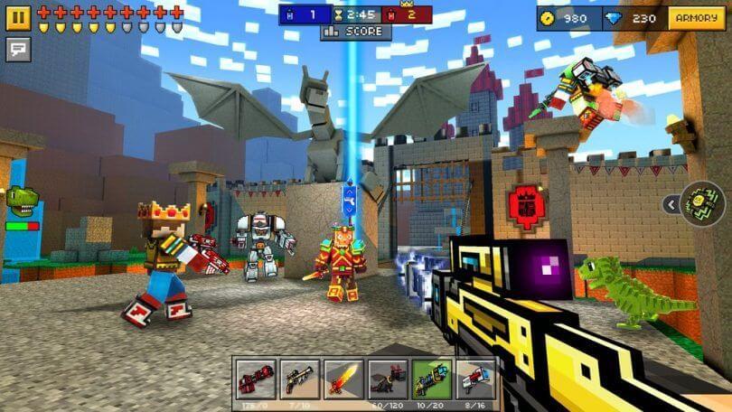 Pixel Gun 3D Game Download PC Multiplayer