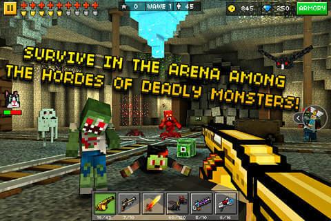 Pixel Gun 3D Game Survival Mode Story