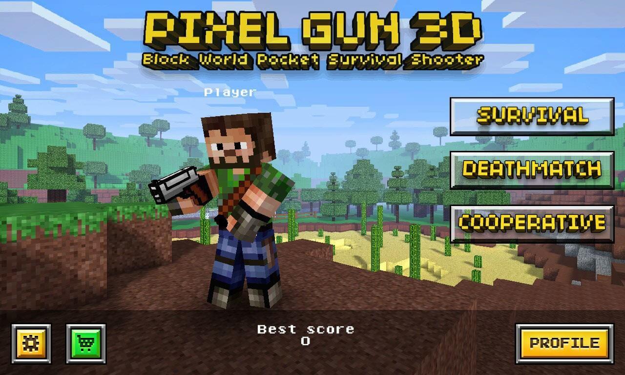 Pixel Gun 3D Online Game Download PC