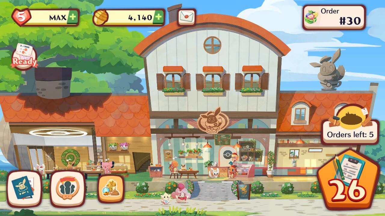 Pokemon Cafe Mix Cafe Overview