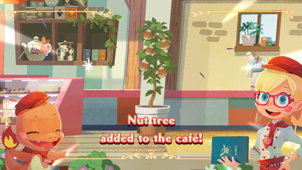 Pokemon Cafe Mix Nut Tree