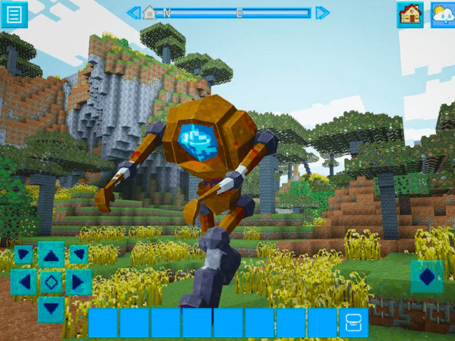 robocraft building and survival craft robot world pc