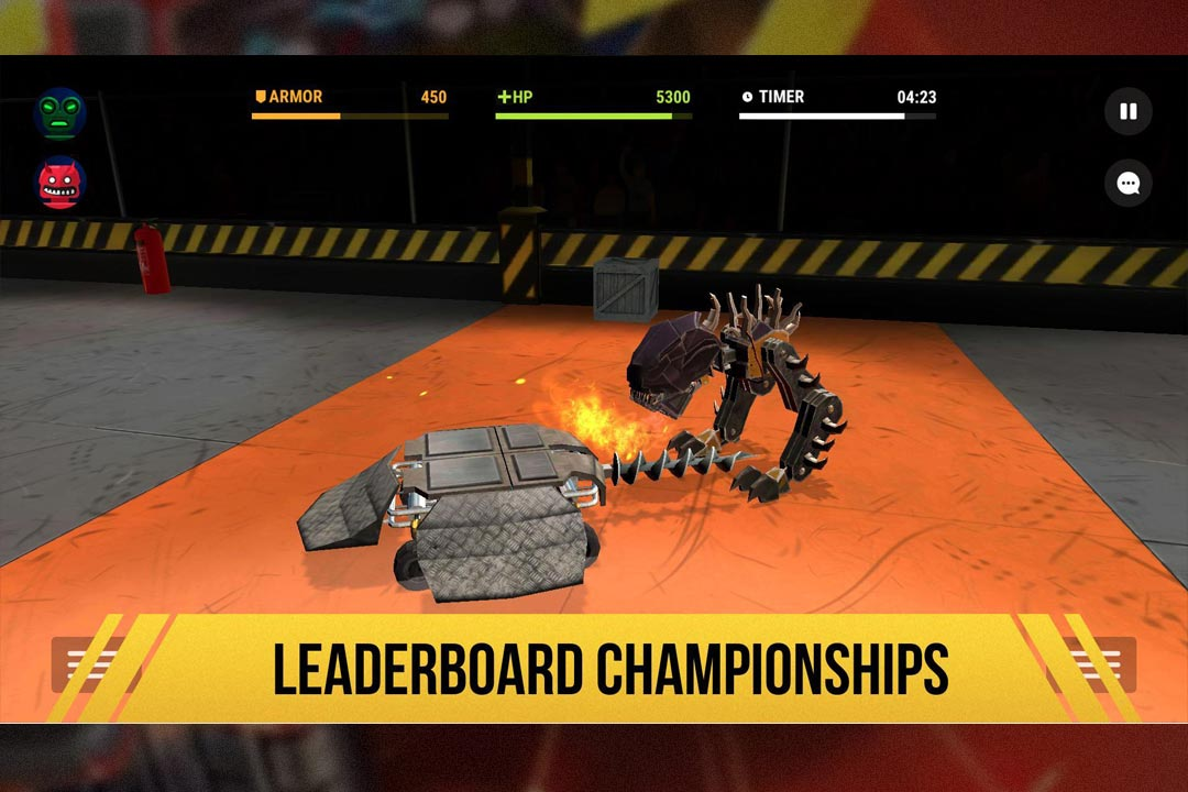 robot fighting 2 championships