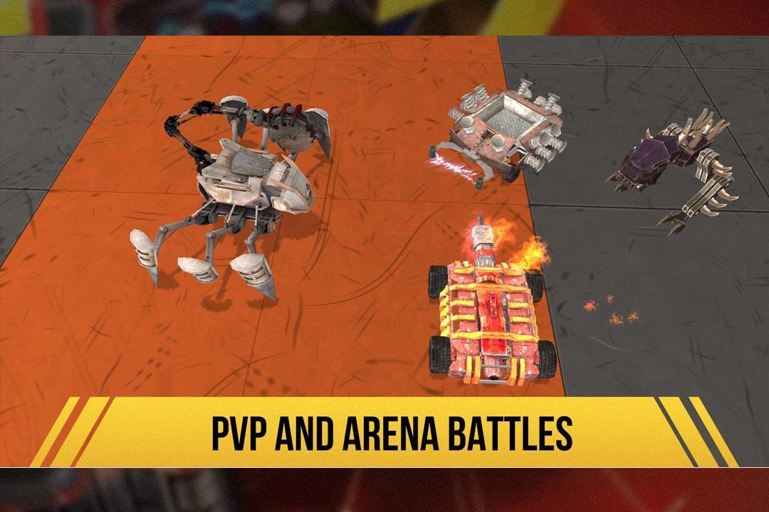 robot fighting 2 pvp arena