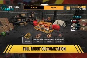 robot fighting 2 robot customization