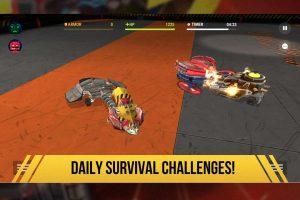 robot fighting 2 survival challenges