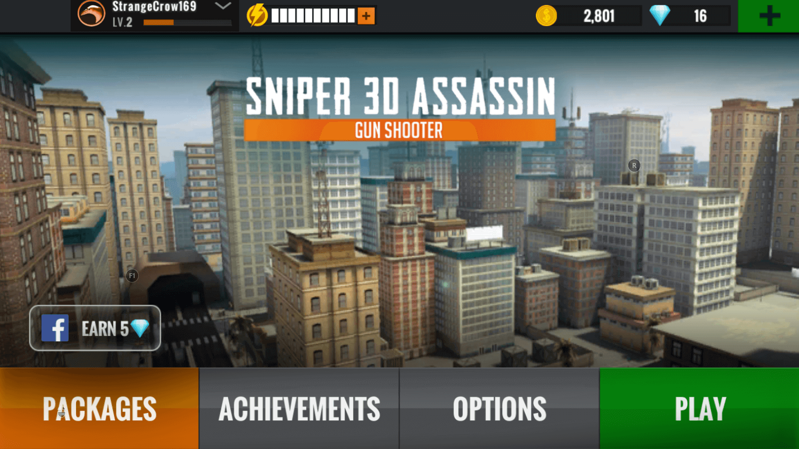 sniper 3d gun shooter city view