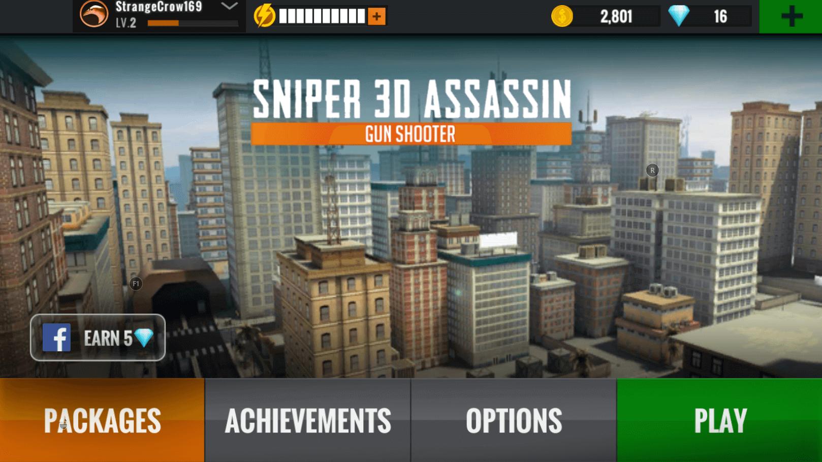 sniper 3d gun shooter city view