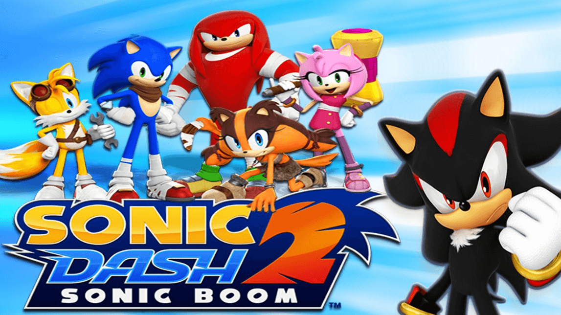 Sonic and Friends play Sonic Dash 2