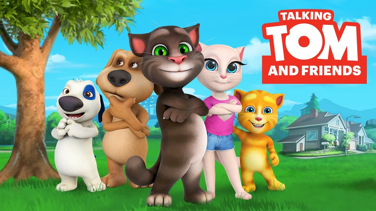 Talking Tom and Friends Characters