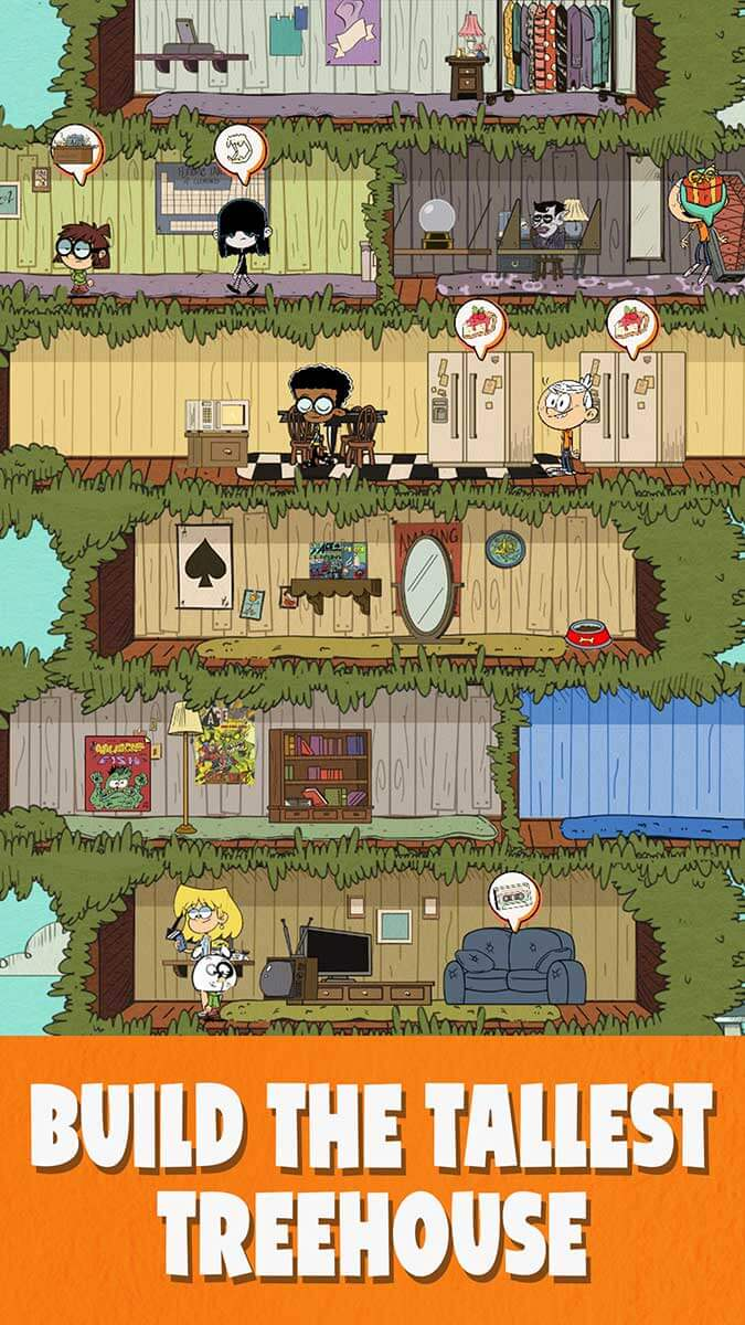 the loud house video game