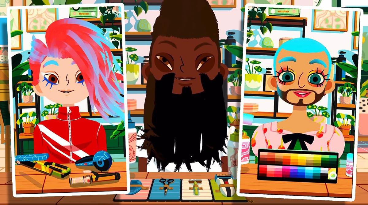 Toca Hair Salon 4 Beard Man