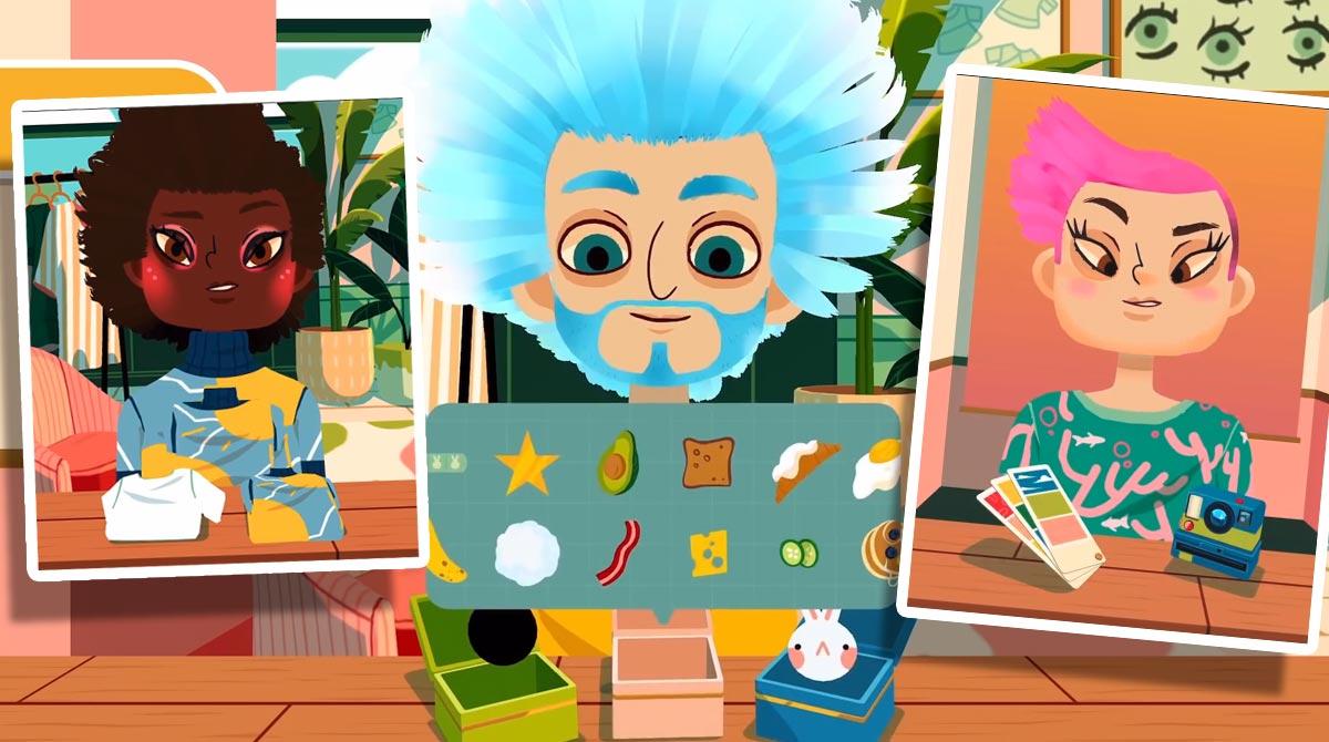 Toca Hair Salon 4 Blue Hair